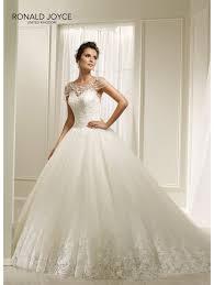 hayley wedding dresses ronald joyce 69205 beautiful gown wedding dress ivory