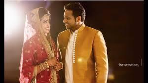muslim and groom kerala muslim wedding highlights thamanna raees