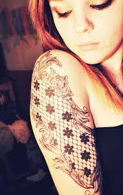 50 remarkable lace tattoo designs