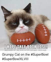 Grumpy Cat Friday Meme - i hope the w both lose wwwgrumpy catscom wwwfacebookcomthe