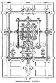 Baths Of Caracalla Floor Plan Floor Plans Black And White Stock Photos U0026 Images Alamy