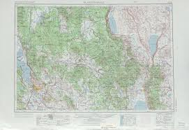 klamath falls topographic maps or usgs topo 42120a1 at 1
