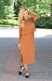 fall camel sweater modest dress modest bridesmaids dresses