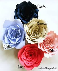 Paper Flowers Video - diy paper flower instructions paper flowers how to templates