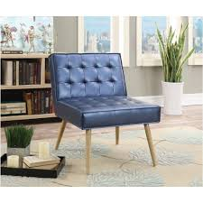 Tufted Accent Chair Ave Six Amity Sizzle Azure Fabric Tufted Accent Chair Amt51t S54