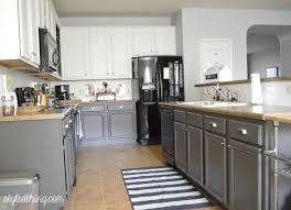 Easy Kitchen Cabinets by Gray Cabinets With Tan Counter Google Search There U0027s No Place