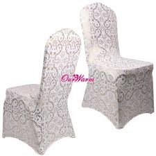 Gold Spandex Chair Covers 6pcs Lot Spandex Chair Covers For Weddings Dining Chair Cover