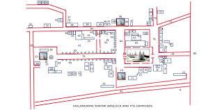 basilica floor plan velankanni shrine direction velankanni nagapattinam