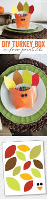 thanksgiving crafts for diy turkey boxes thanksgiving