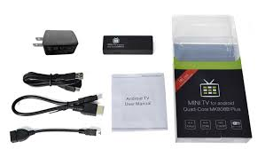 mini tv for android mk808b plus android mini android tv unboxing y review android