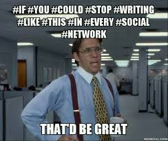 Social Network Meme - 50 awesome social media content ideas for killer posts