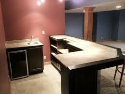 best custom l shaped home bar plans desk design