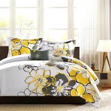 Yellow And Blue Decor Bedding Ideas Yellow And Gray Bedding Uk Yellow And Grey Floral