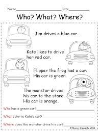 printable comprehension stories best 25 stories for ideas on