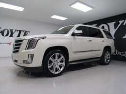 cadillac escalade 4x4 for sale 2015 cadillac escalade 4x4 4 door suv luxury white used suv for