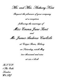 wedding invitation sles sles of wedding invitations wording popular wedding