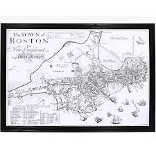 Street Map Of Boston by 1722 Map Of Boston Massachusetts Maps Cartography Pinterest