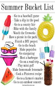 Things To Do With Your Family On The The Ultimate Summer List For 2016 Summer Lists