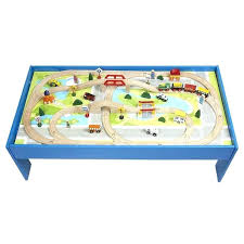 melissa and doug train table and set melissa and doug train table piece mountain rock train table