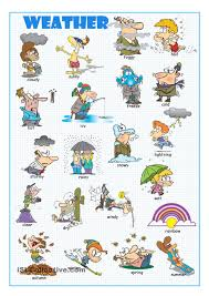 weather picture dictionary english pinterest picture
