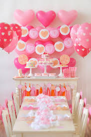 Kids Birthday Party Decoration Ideas At Home Best 25 Heart Party Ideas On Pinterest Valentine Party Images