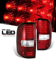 2004 f150 tail lights ford f150 2004 2008 red led tail lights a101q1oz109 topgearautosport
