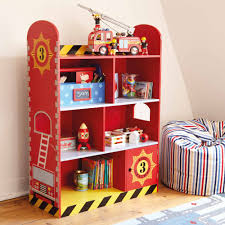Fire Engine Bookcase Our Fire Engine Toddler Bedroom Create - Firefighter kids room