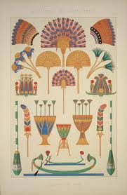 no 2 the lotus and papyrus with feathers and palm