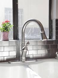 How To Install Glass Mosaic Tile Backsplash In Kitchen Kitchen Backsplash Kitchen Backsplash Pictures Bathroom Floor