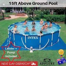 bestway 8ft fast set swimming pool cover round paddling sheet