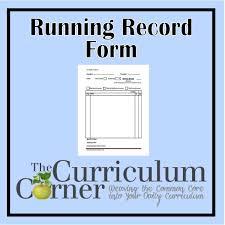 sample narrative report for preschool reading management binder the curriculum corner 123 running