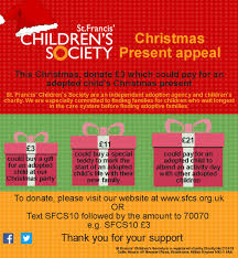 the sfcs christmas present appeal justgiving
