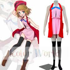 aliexpress com buy pokemon pocket monsters serena cosplay
