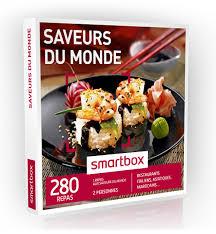 coffret cadeau smartbox cadeau gourmand offrir un diner pour 2