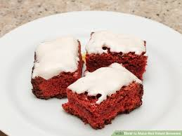 how to make red velvet brownies with pictures wikihow