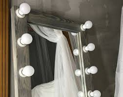 Makeup Vanity Mirror With Lights Mirror With Lights Etsy