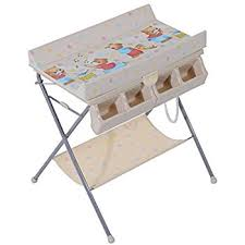 Changing Table Baby Homcom Baby Changing Table Baby Storage Bath Tub Unit Station