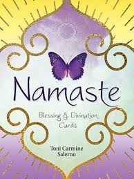 blessing cards namaste blessing divination cards