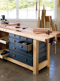 shaker workbench woodworking magazine popular woodworking and