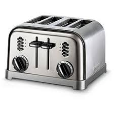 Under Cabinet 4 Slice Toaster by Cuisinart Stainless Steel 2 Slice Toaster Home U0026 Garden