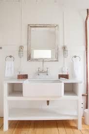 Bathroom Freestanding Cabinet Bathrooms Design Industrial Farmhouse Style Bathroom