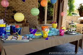 party decoration ideas at home interior design simple summer theme party decorations room
