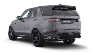 land rover discovery sport white startech body kit gives land rover discovery a sporty makeover