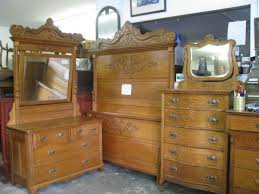 Oak Bed Set The Furniture Solid American Oak Bedroom Set S Attic