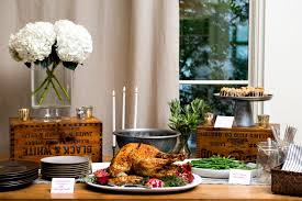 how to set up a buffet table for christmas dinner cooking