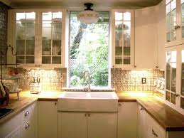 Kitchen Mosaic Backsplash by Small Kitchen Ideas On A Budget Mosaic Backsplash Metal Sink