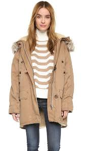 Free People Parka 22 Must Have Parkas With Faux Fur Trim On Trend For Winter