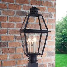 Outside Post Light Fixtures Outdoor Post Lights Post Lanterns Shades Of Light
