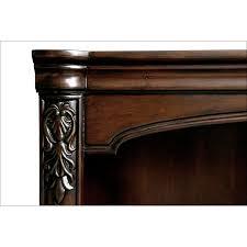 Desk Molding Ashland Credenza Desk With Hutch Cherry American Signature