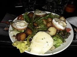 bureau val salade de chèvre chaud picture of au bureau val de reuil val de